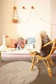 Un colchón sobre otro y combinando telas