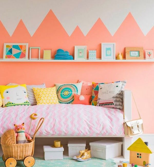 Montañas rosas para decorar
